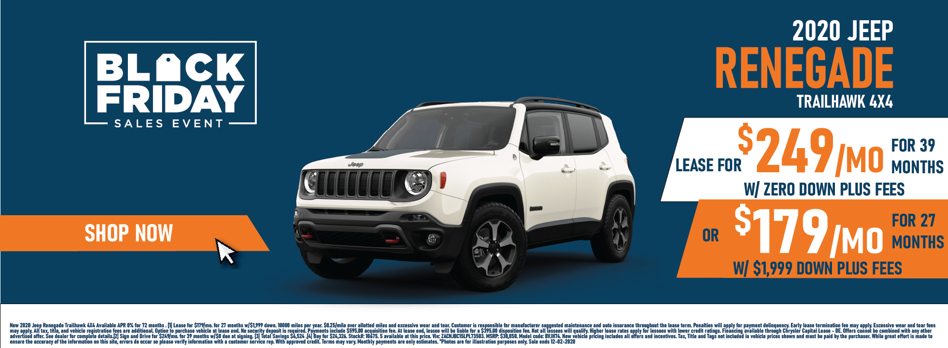 Whitewater – Jeep Renegade November Updated
